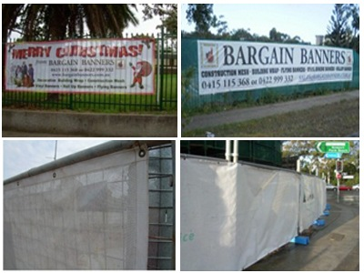 Mesh Fence banners