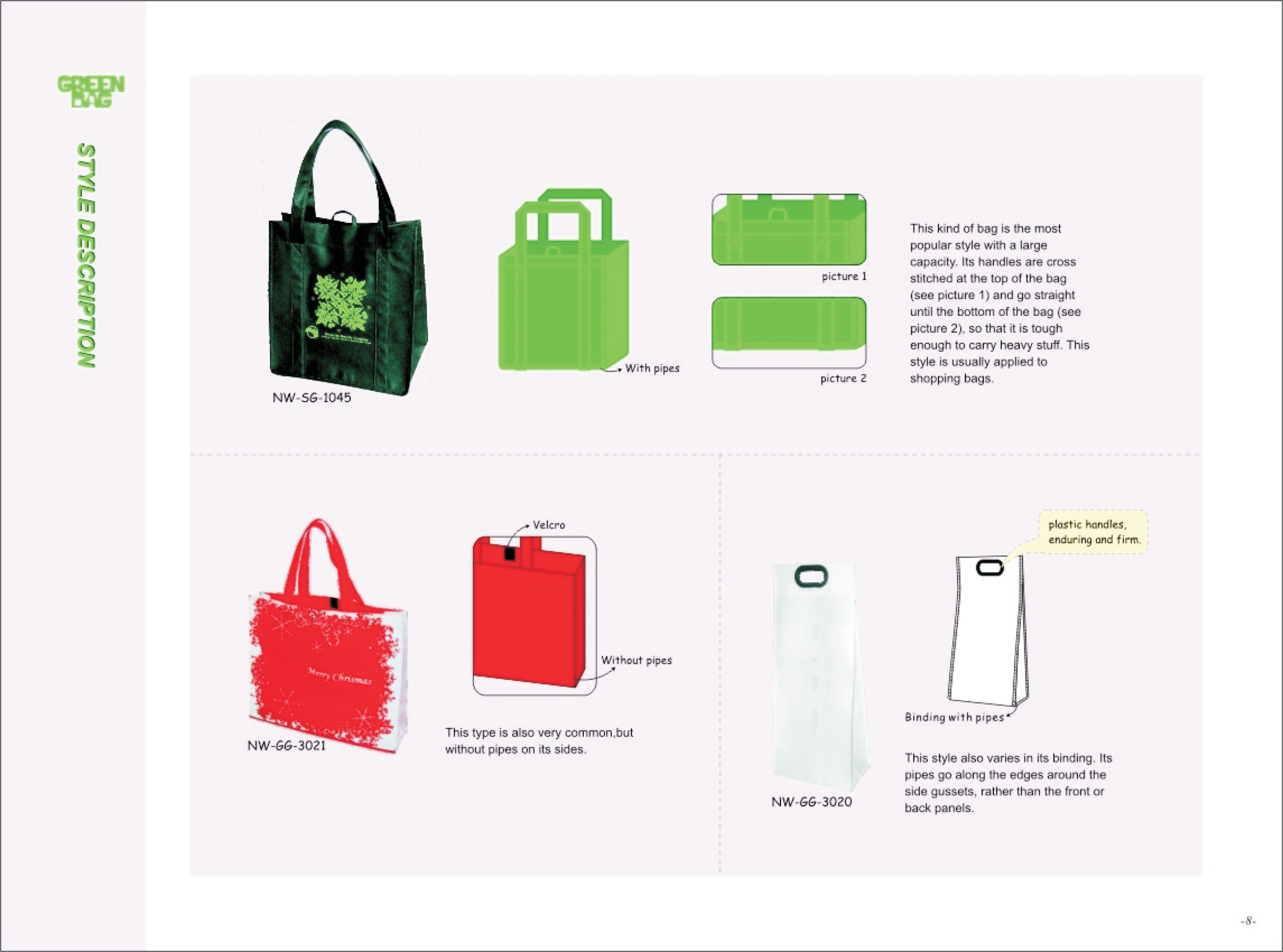 green eco bag