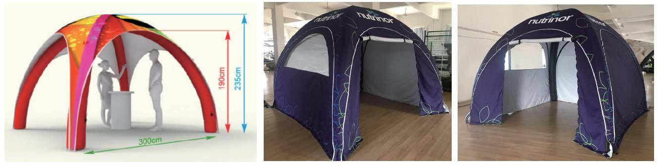3x3M Inflatable Tent