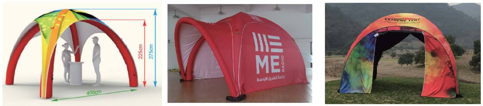 4x4M Inflatable Tent
