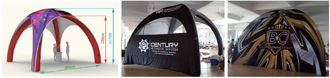 6x6M Inflatable Tent