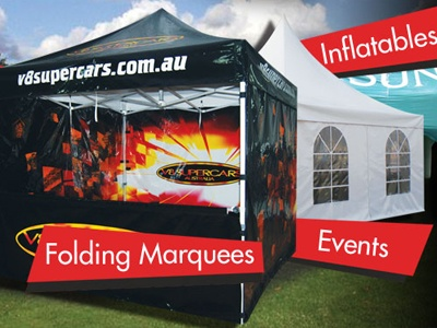 Tents/marquees for events